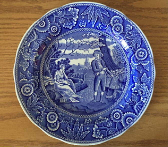 Blue Delft ~ an artistic, classy knockoff.