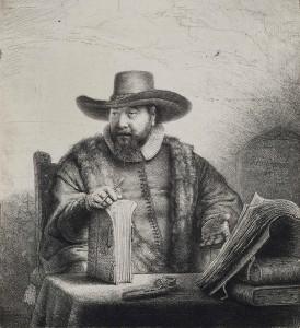 Portrait of Cornelis Claesz. Anslo, 1641 from Zimmerli Art Museum